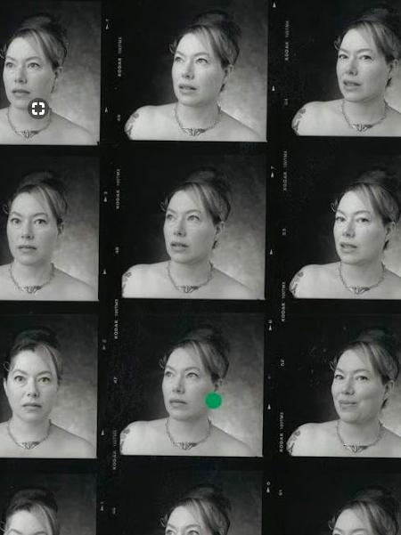 portrait session proof sheet
